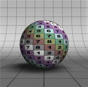 CG Sphere exemplo render no Blender