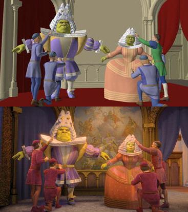 Shrek 3 em detalhes mais técnicos