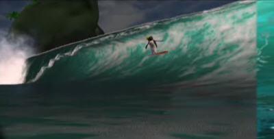 Surf`s Up água em shade