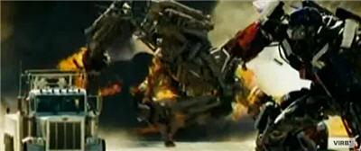 Optimus Prime e Bonecrusher