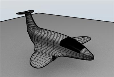 Render Wire Avião
