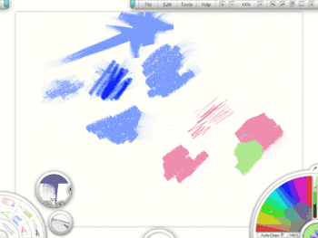 Artrage Interface