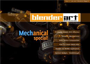 Revista BlenderArt 11 lançada
