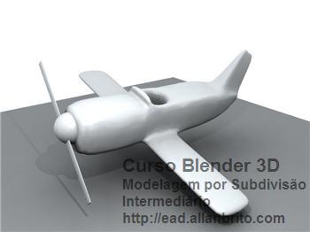 Curso Blender - Modelagem por subdivisão