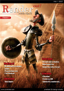 Revista Gratuita sobre CG - Render Out
