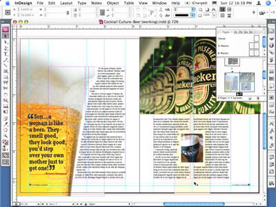 Tutorial Adobe Indesign CS3 - Text Wrap