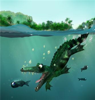 Blender 3D - The Croc