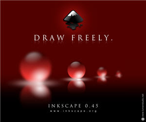 Inkscape 0.45 - About screen
