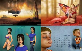 Calendário 2008