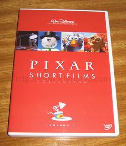 DVD Pixar Shorts