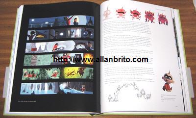 Livro Pixar Conteúdo