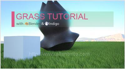 Tutorial para fazer grama com Blender e Indigo