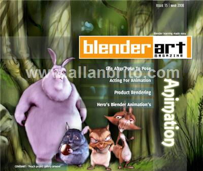 Revista BlenderArt 15: Animação