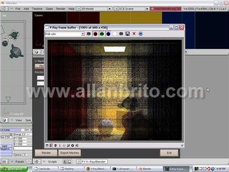 Tutorial Blender e V-Ray