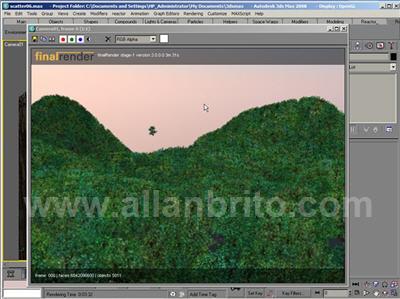 finalRender Florestas virtuais