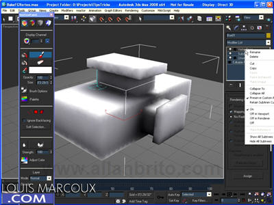 3ds max vertex paint