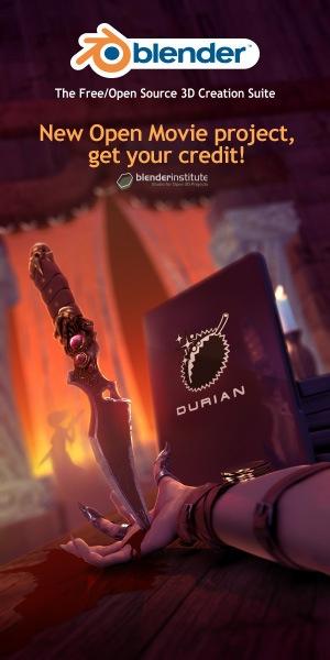 Poster Projeto Durian Blender 3D