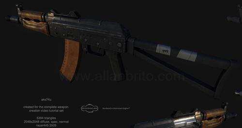 tutorial-modelagem-poligonal-3ds-max-arma