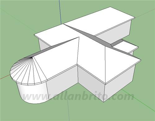 tutorial-sketchup-modelagem-telhados