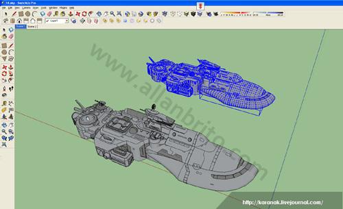 tutorial-sketchup-modelagem-veiculos-naves-mecanica