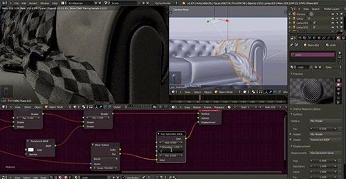 Visualização para arquitetura: Modelando tecidos no Blender