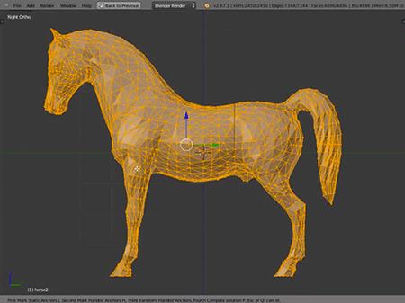 Modelagem 3d por deformação
