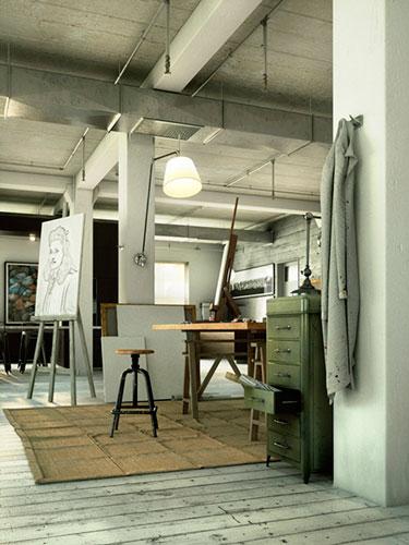 Blender e Octane render para arquitetura