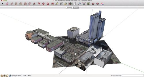 Modelagem de terrenos com SketchUp