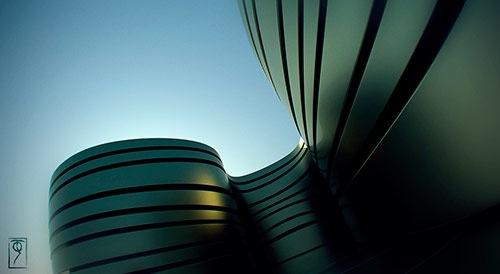 Concurso de renderização com YafaRay: Arquitetura vanguardista