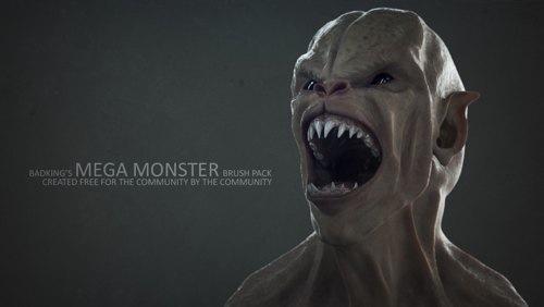 Modelagem de personagens 3D: Pincéis para monstros no ZBrush