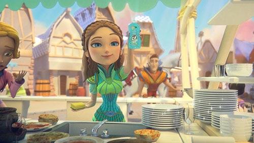Comercial animado produzido com Blender