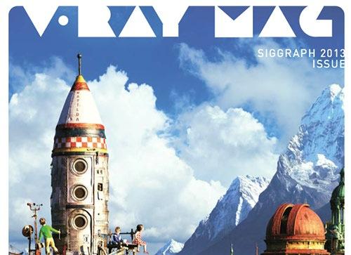 Revista gratuita sobre V-Ray: Edição siggraph 2013