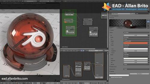 Curso sobre materiais avançados com Blender Cycles