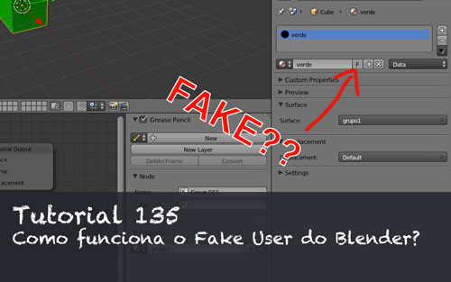 Tutorial 135: Usando o Fake user do Blender