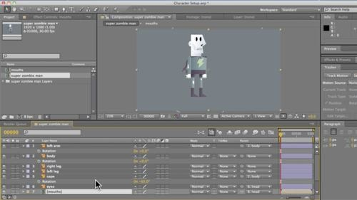Animação de personagens com After Effects