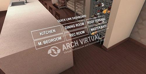 Visualização interativa para arquitetura