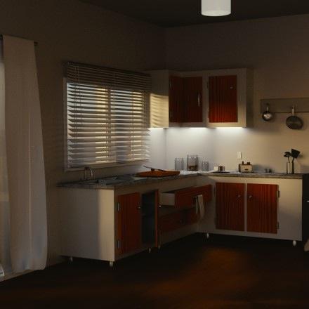 Iluminação de ambientes para arquitetura: Cena para download
