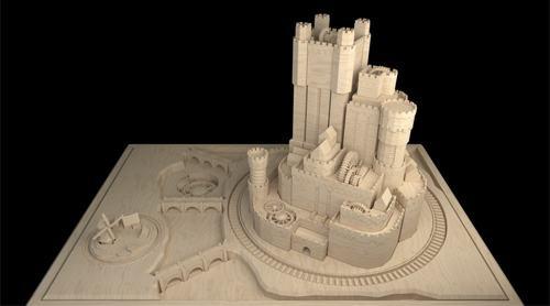 Castelo criado no Blender