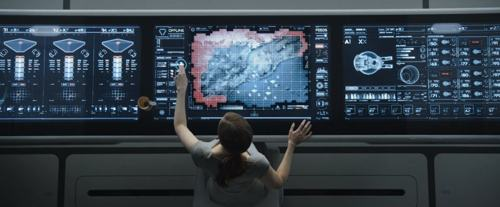 Making of das interfaces para o filme Oblivion
