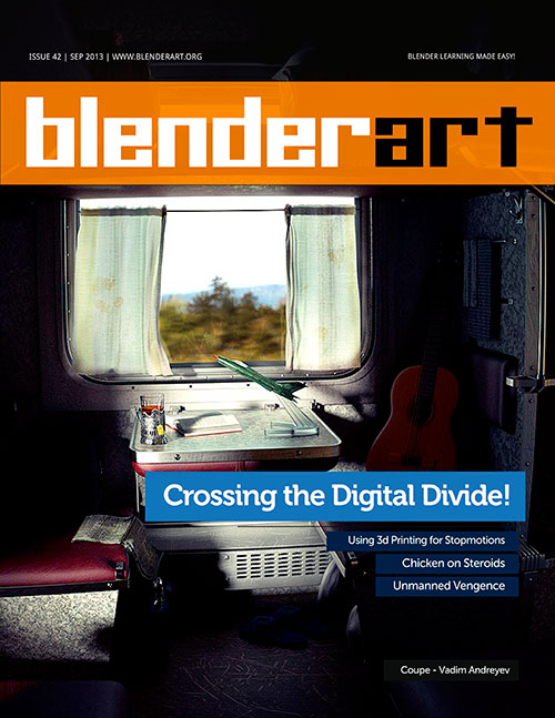 Revista BlenderArt 42: Download gratuito