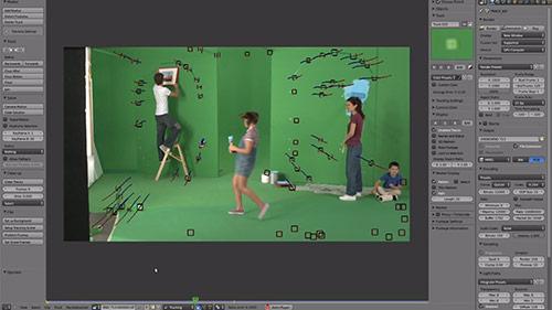 Comercial produzido com Blender e Lightworks