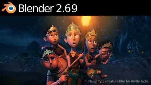 Blender 2.69 disponível para download