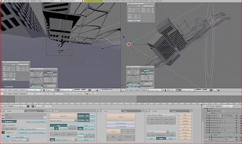Blender Interface 2.4