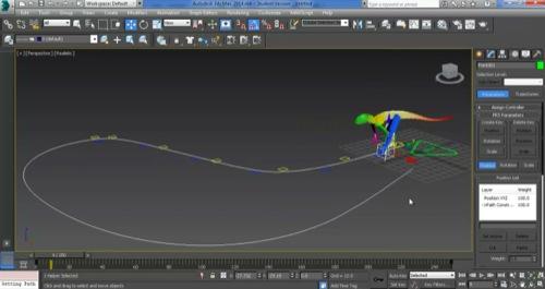 Animação de personagens no CAT com 3ds max