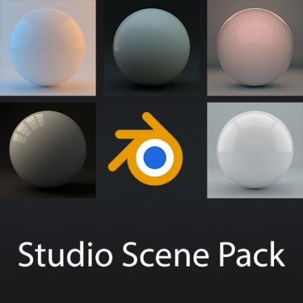 Download gratuito de cenários com iluminação Blender