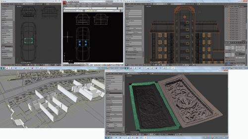 Exportando arquivos DWG para o Blender