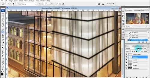 Criando vidro jateado no Photoshop para arquitetura