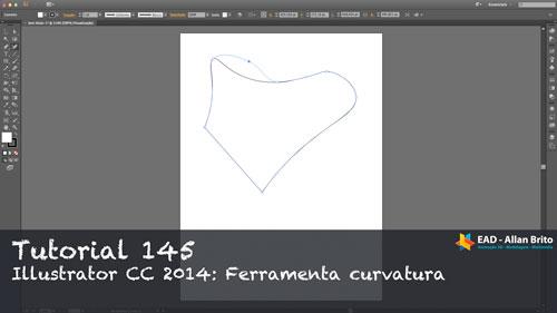 Tutorial 145 – Illustrator CC 2014: Ferramenta curvatura