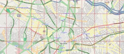 Download gratuito de 241 mapas urbanos em DXF