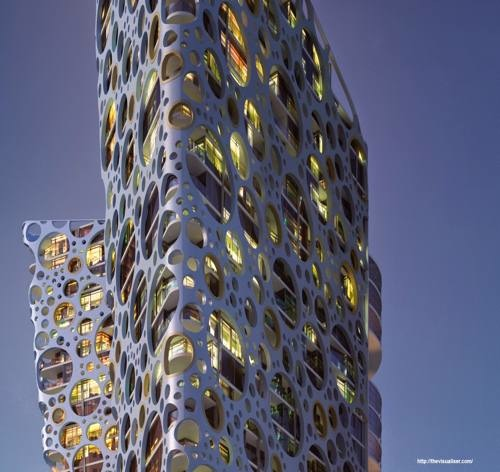 Modelagem 3d de fachadas complexas com AutoCAD e VRayPattern